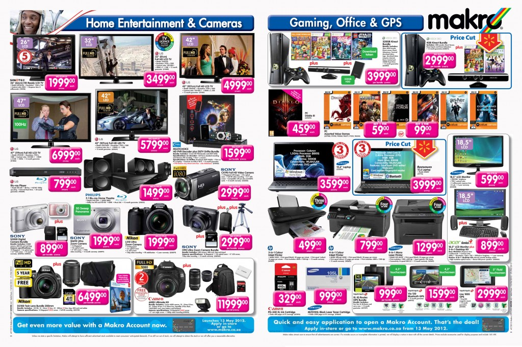Makro Gaming Catalog 13-21 May 2012