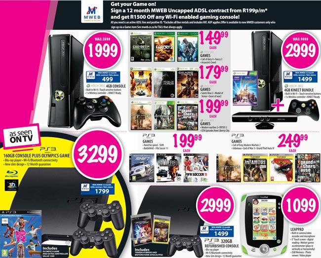 Get an XBOX 360 for R500 bucks